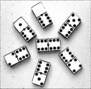 Distintos m todos para adivinar con fichas de domin for Fichas de domino