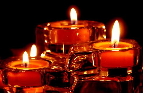 Hechizos de amor con velas rojas - Cena romantica con velas ...