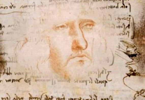 Auto retrato Da Vinci
