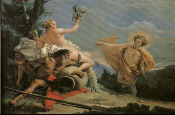 Dafne y Apolo 1