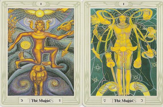 Tarot de Thoth 1