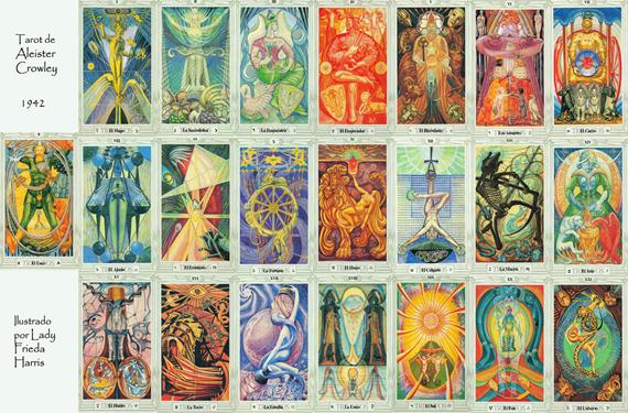 Tarot de Thoth 2