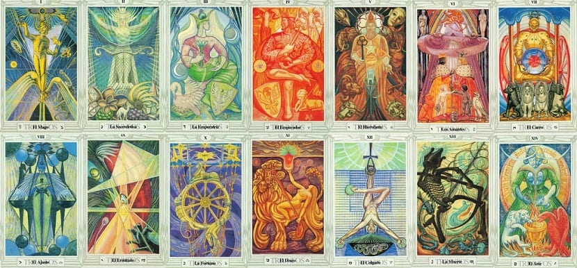 Tarot Thoth Crowley