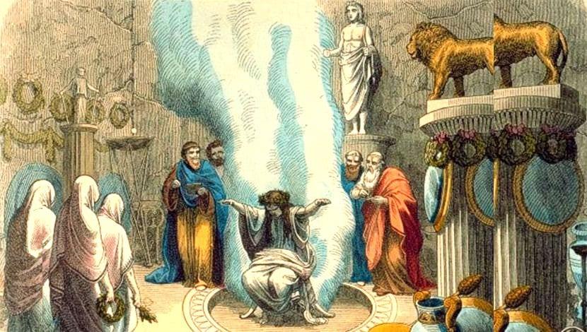 Oráculo Grecia adivinación