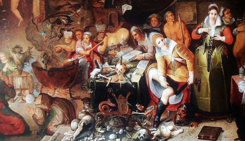 Aquelarre de brujas Frans Francken