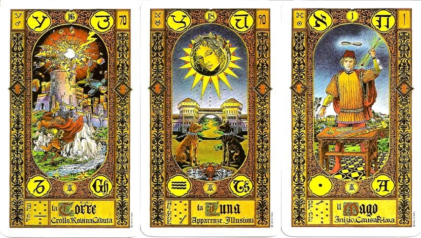 ABC hebreo tarot